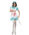 Halloween bloederige zuster kostuum dames