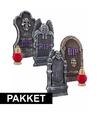 Halloween compleet halloween kerkhof pakket
