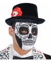 Halloween day of the dead masker