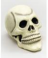 Halloween decoratie doodskop rubber