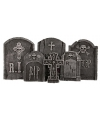 Halloween decoratie grafstenen set 6 stuks