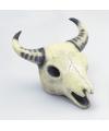 Halloween decoratie stieren doodskop