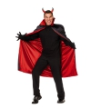 Halloween dracula cape voor heren