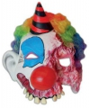 Halloween enge clown masker van latex