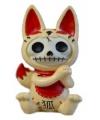 Halloween furry bones beeldje kat kitsune