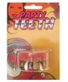 Halloween gebit rotte tanden goud