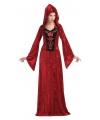 Halloween gothic dames jurk rood