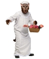 Halloween grote boze wolf kostuum voor volwassenen
