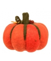 Halloween grote decoratie pompoen oranje 20 cm