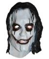 Halloween halloween clowns masker met zwart haar