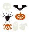 Halloween halloween decoratie stansjes 50 stuks
