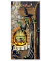 Halloween halloween deurposter heksenketel
