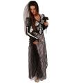 Halloween halloween kostuum zombie bruid