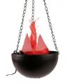 Halloween halloween lamp met flikkerende vlam
