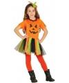 Halloween halloween pompoen jurkje voor meisjes