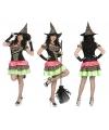 Halloween heksen jurk voor dames