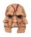 Halloween horror 3 gezichten masker