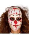 Halloween horror clown masker