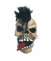 Halloween horror schedel punk masker