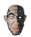 Halloween horror thema masker cyborg
