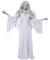 Halloween kerkhof engel kostuum met vleugels