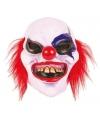 Halloween latex horror masker enge clown boldy