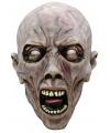 Halloween luxe masker schreeuwende zombie