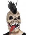 Halloween masker schedel punker