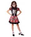 Halloween mexicaanse dag van de dood jurkje voor meisjes