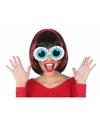 Halloween oogbollen bril