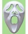 Halloween papier mache masker screamer