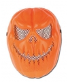 Halloween plastic masker pompoen