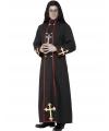 Halloween priester van de dood kostuum