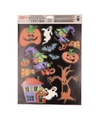Halloween raamdecoratie stickervel zwart