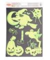 Halloween raamstickers pompoen