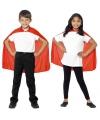 Halloween rode cape voor kinderen