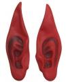 Halloween rode duivel oren