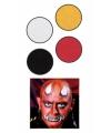 Halloween schmink set duivel