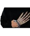 Halloween skelet hand 32 cm