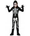Halloween skelet jumpsuit voor kinderen