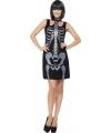 Halloween skelet jurkje voor dames