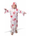 Halloween spook kostuum met bloed voor kinderen