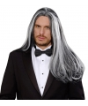 Halloween victoriaanse vampier pruik