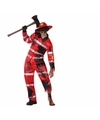 Halloween zombie brandweer kostuum voor volwassenen