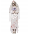 Halloween zombie bruid horror kostuum