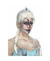 Halloween zombie froze to death damespruik
