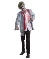 Halloween zombie kostuum met bloed