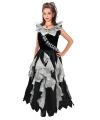 Halloween zombie prom queen kostuum voor meisjes