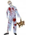 Halloween zombie pyjama voor jongens