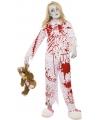 Halloween zombie pyjama voor meisjes